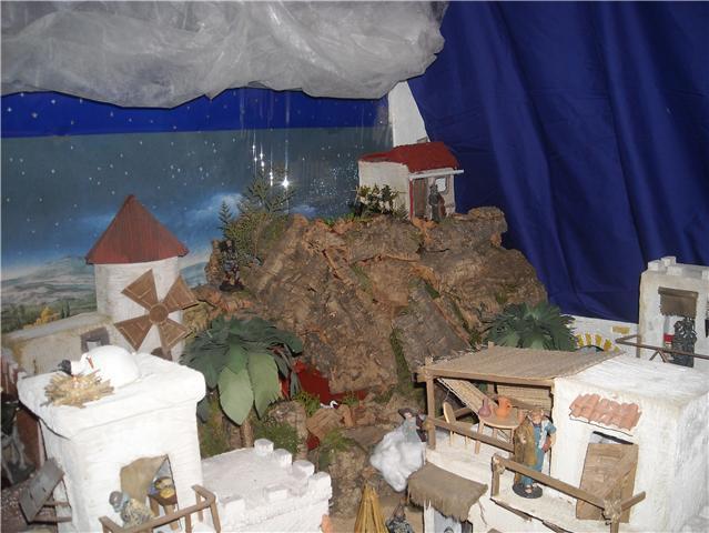montaña. Belén de Familia Luque Pruna (San Juan  de Aznalfarache)