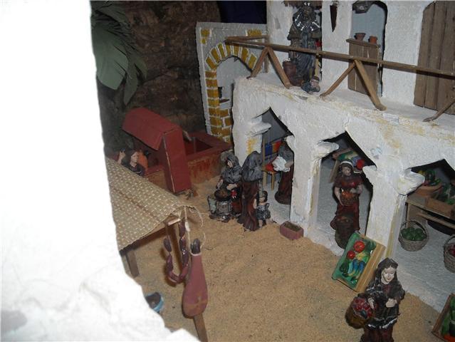 mercado. Belén de Familia Luque Pruna (San Juan  de Aznalfarache)