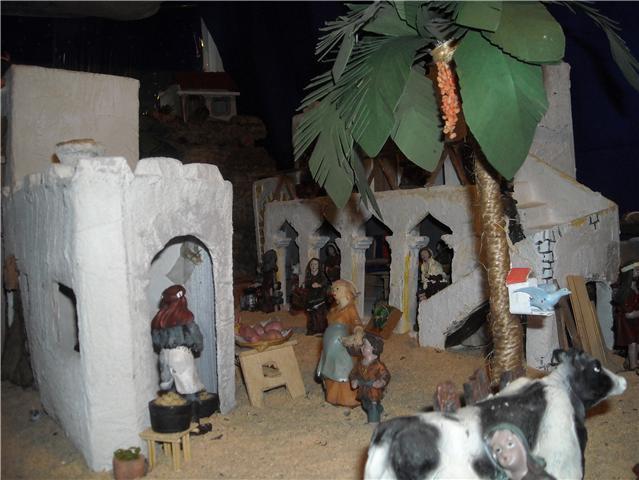 panaderia y mercado. Belén de Familia Luque Pruna (San Juan  de Aznalfarache)