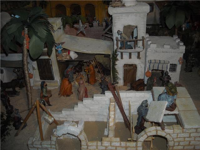 posada y obra. Belén de Familia Luque Pruna (San Juan  de Aznalfarache)