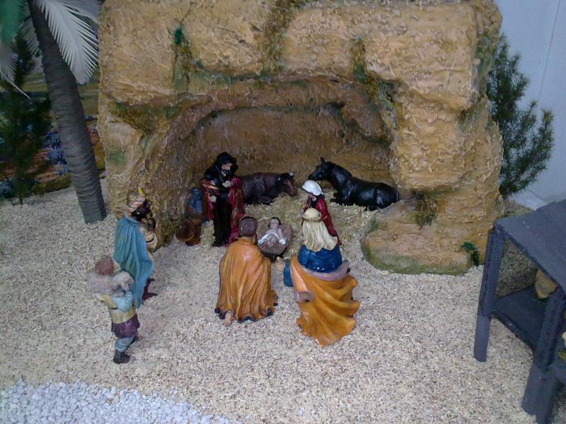 nacimiento. Belén de Familia Luque Pruna (San Juan  de Aznalfarache)