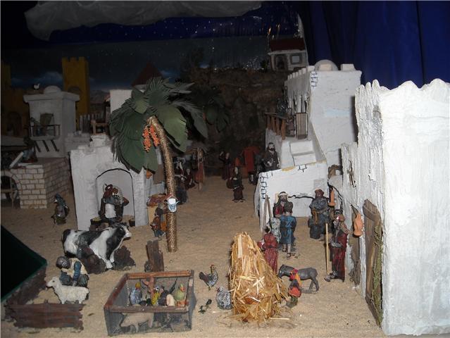 pueblo. Belén de Familia Luque Pruna (San Juan  de Aznalfarache)