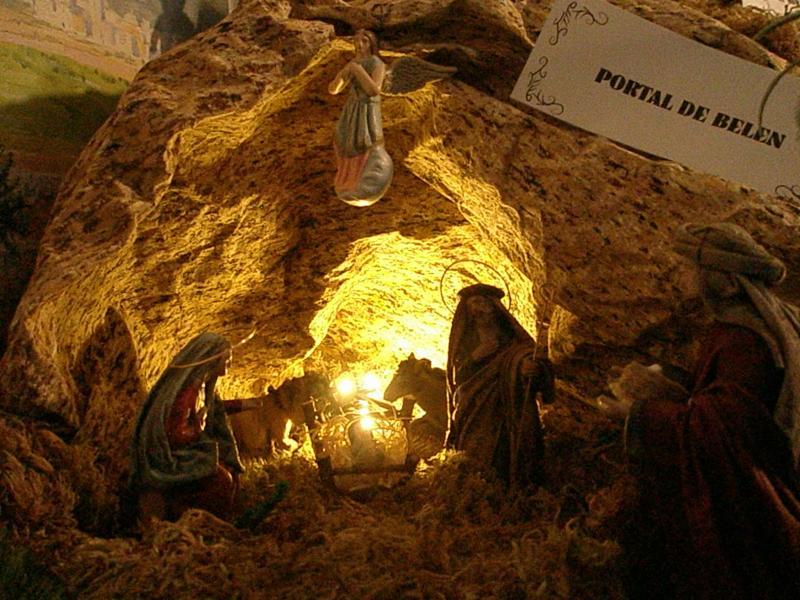 Cueva. Belén de fernando de Santiago (La Coruña)