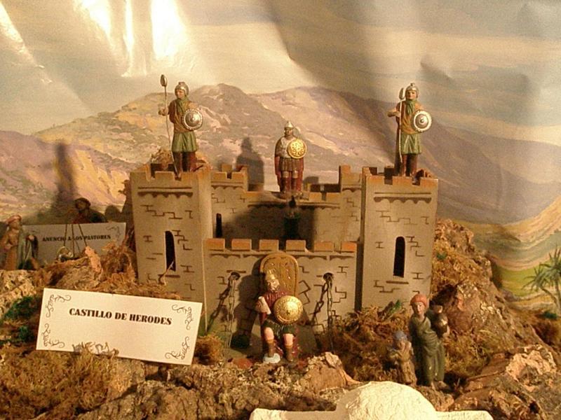 Castillo de Herodes. Belén de fernando de Santiago (La Coruña)