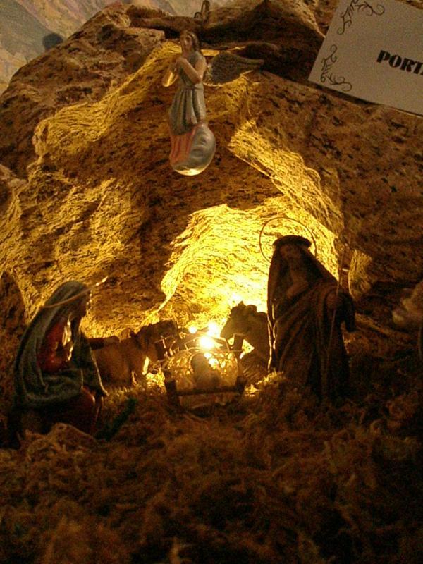 Cueva o Portal. Belén de fernando de Santiago (La Coruña)