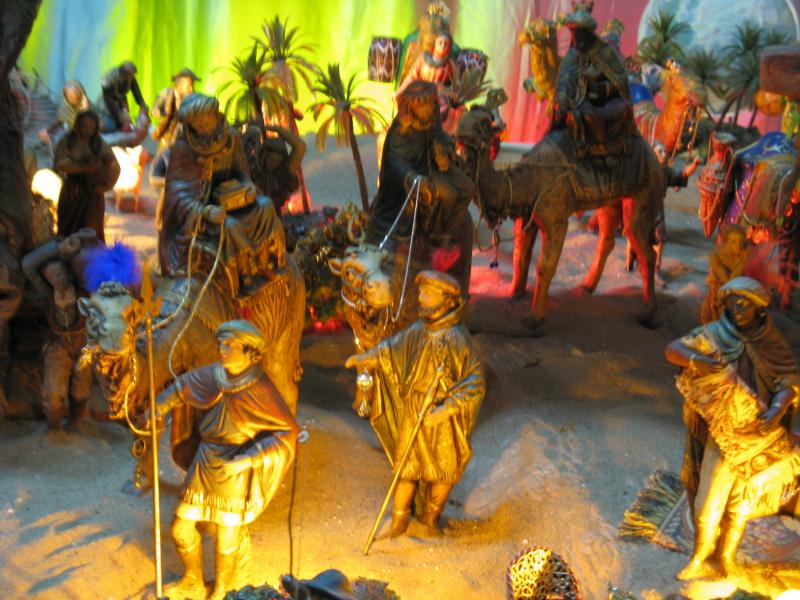 Reyes Magos. Belén de Francisco Sanz Gutierrez (Vélez-Málaga)