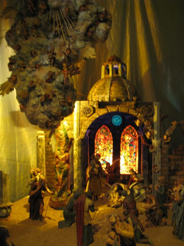 Cúpula. Belén de Francisco Sanz Gutierrez (Vélez-Málaga)