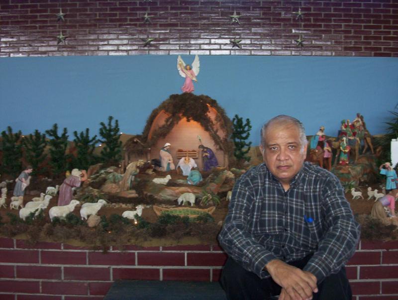El autor. Belén de Alberto Perozo Vílchez (Colegio Gonzaga - Padres Jesuítas)