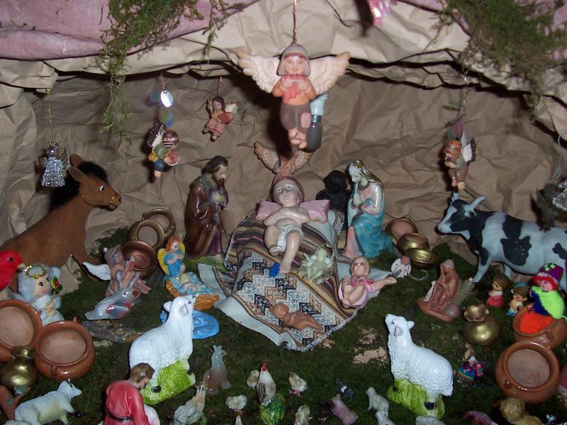 SAGRADA FAMILIA. Belén de Gustavo Contreras (San Salvador de Jujuy)