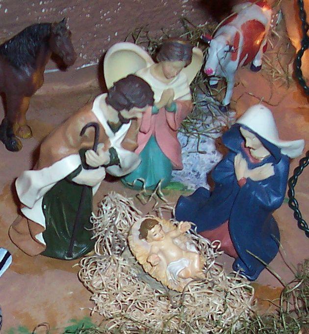 Cristo nacido. Belén de Ignacio Palacios (Kilgore, Texas)