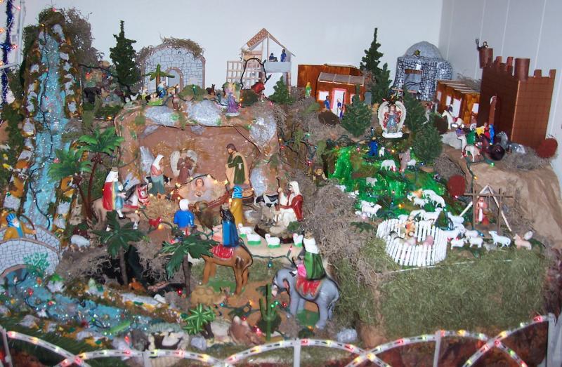 Belén, pueblo, 2008. Belén de Ignacio Palacios (Kilgore, Texas)
