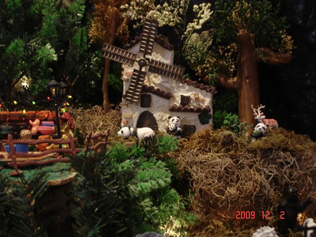 Nacimiento 2009 041. Belén de Ines Andrango (Quito Ecuador)