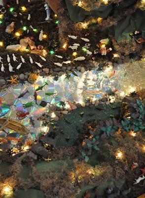 Nacimiento 2009 153. Belén de Ines Andrango (Quito Ecuador)