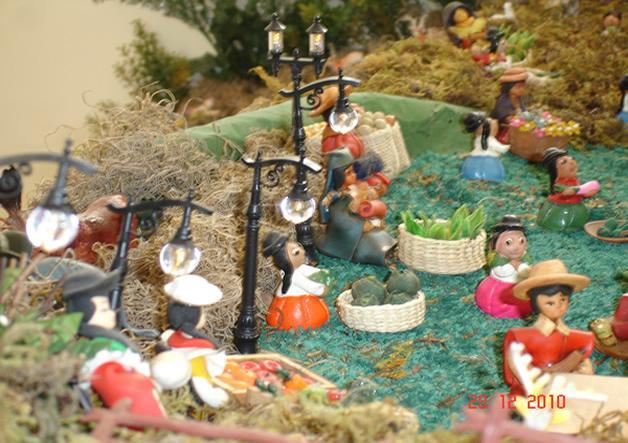 mercado 2. Belén de Ines Andrango (Ecuador)