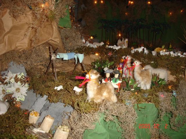 Nacimiento 2009 030. Belén de Ines Andrango (Quito Ecuador)
