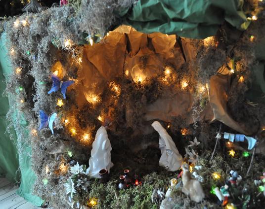Nacimiento 2009 054. Belén de Ines Andrango (Quito Ecuador)