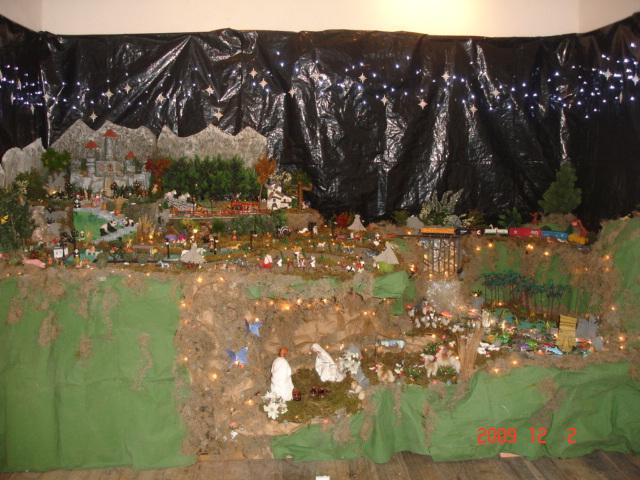 Nacimiento 2009 001. Belén de Ines Andrango (Quito Ecuador)
