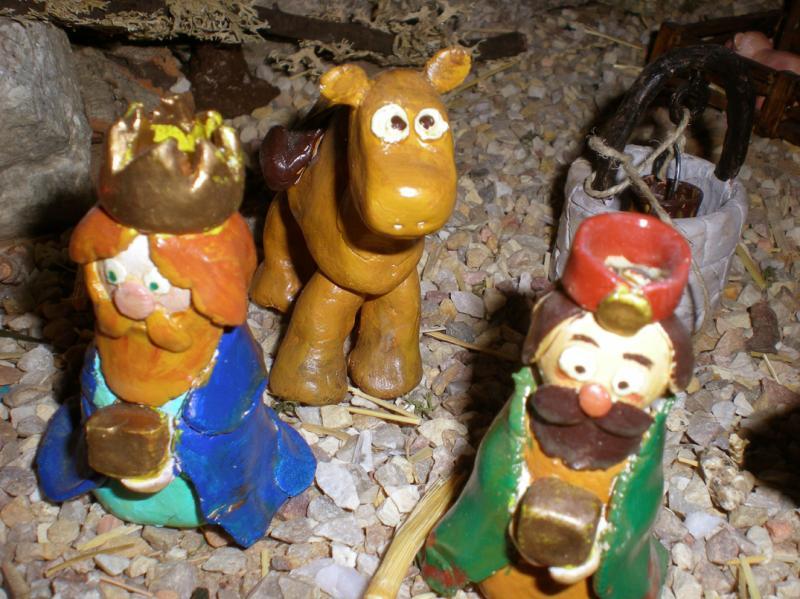 camello. Belén de Irene Sahagún (Sant Pere Pescador - Girona)