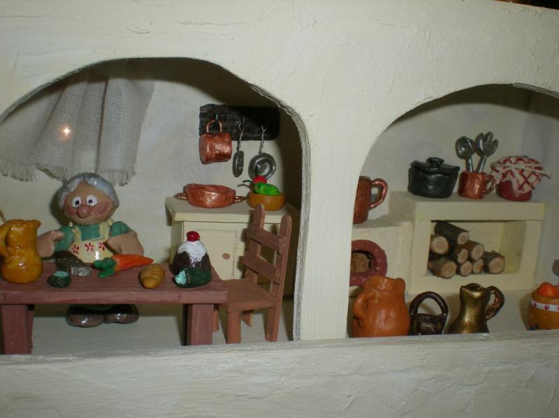 una cocina. Belén de Irene Sahagún (Sant Pere Pescador - Girona)