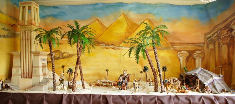 Huída a Egipto(1). Belén de Iván Alonso Villegas Bedoya (Medellín)