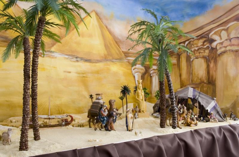 Huída a Egipto(5). Belén de Iván Alonso Villegas Bedoya (Medellín)