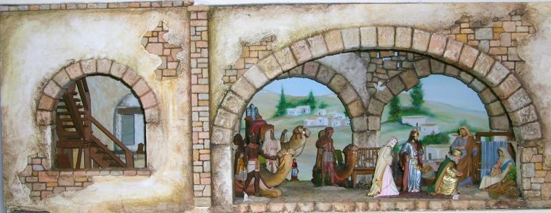 Adoración de los Reyes 4. Belén de Iván Alonso Villegas Bedoya (Medellín)