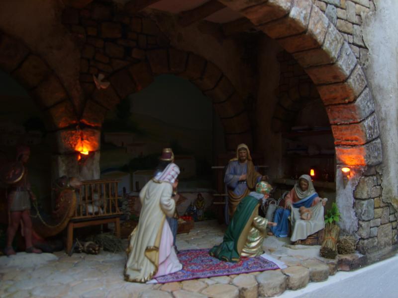 Adoración de los Reyes 3. Belén de Iván Alonso Villegas Bedoya (Medellín)