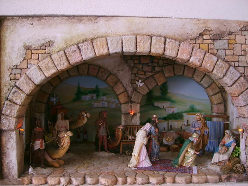 Adoración de los Reyes 2. Belén de Iván Alonso Villegas Bedoya (Medellín)