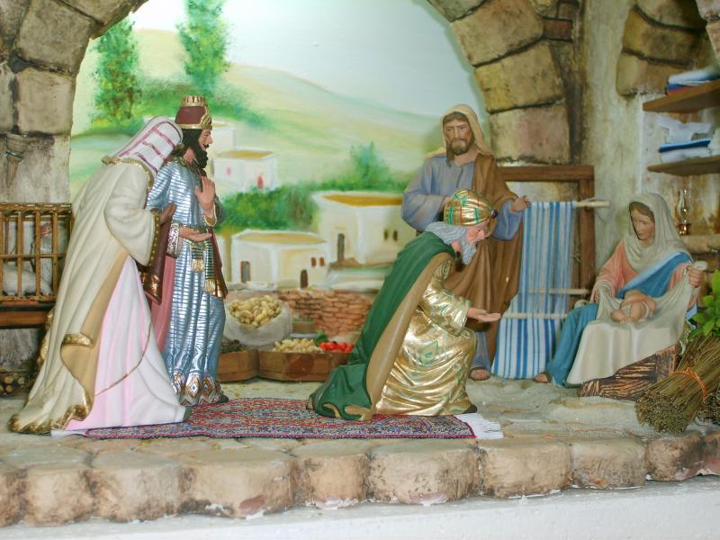 Adoración de los Reyes. Belén de Iván Alonso Villegas Bedoya (Medellín)