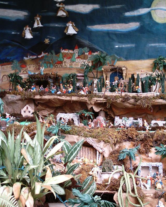 Nuestra Gran Tradición, Nuestro Belén... Belén de Familia Cruz.(Janice Cruz de Castrejón) (David, Chiriquí, Panamá)