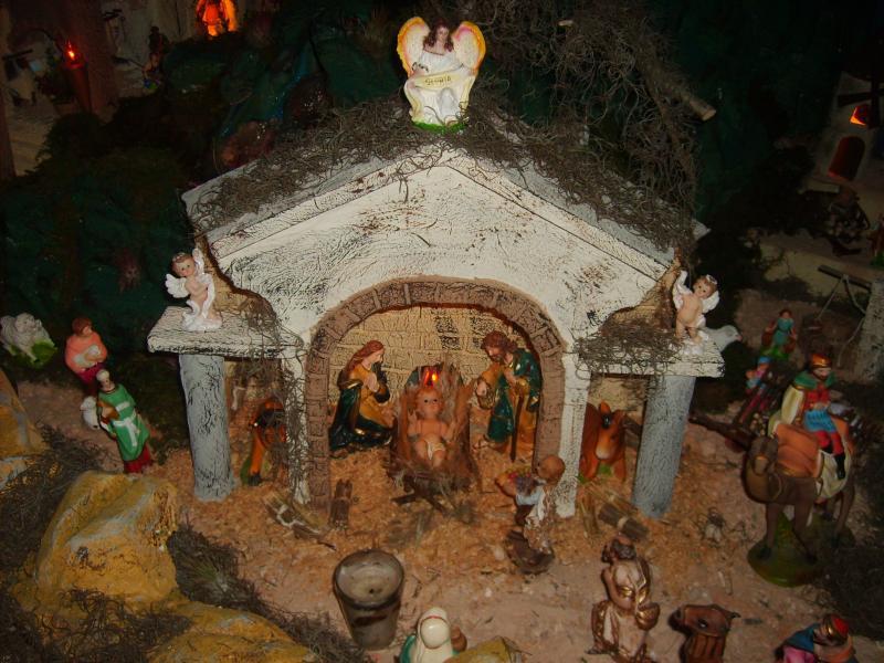 El Misterio. Belén de Jose Antonio Pineda (Guatemala)