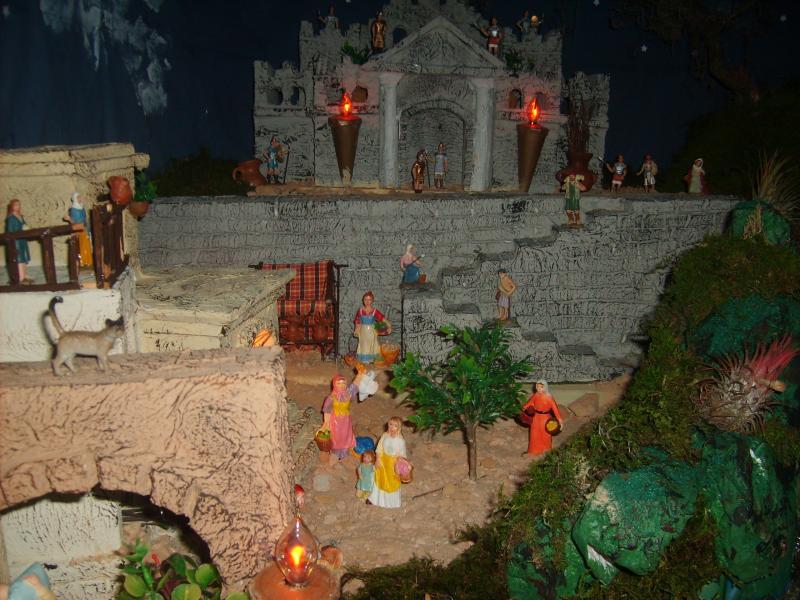 La plaza. Belén de Jose Antonio Pineda (Guatemala)