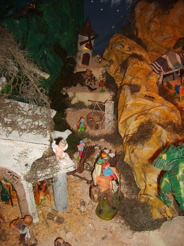 El molino. Belén de Jose Antonio Pineda (Guatemala)