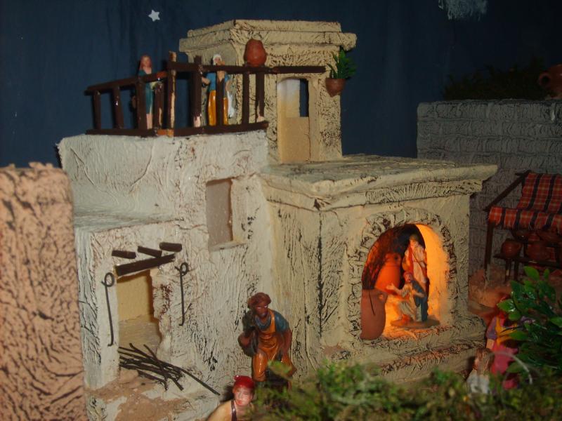 Casas. Belén de Jose Antonio Pineda (Guatemala)