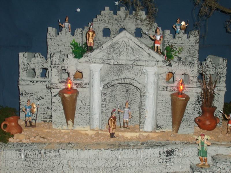 Castillo. Belén de Jose Antonio Pineda (Guatemala)