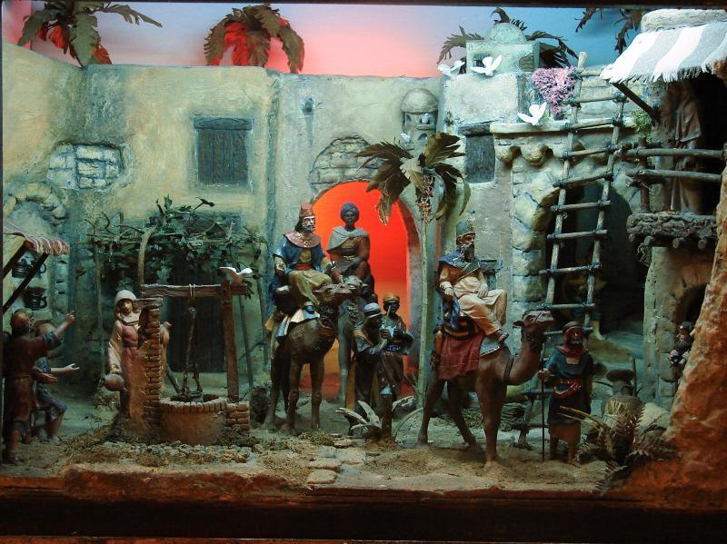 Caravana de Reyes. Belén de Javier Ortega Mazorra