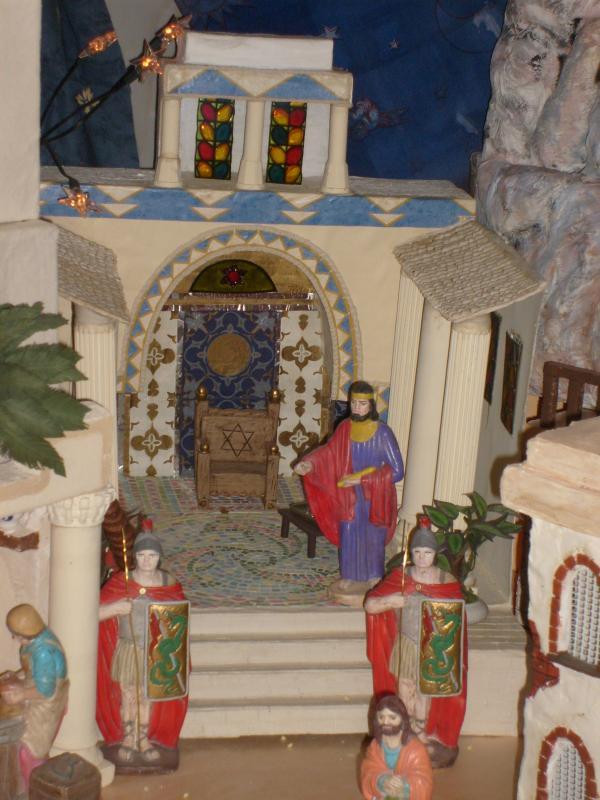 palacio herodes. Belén de Mª Josefa (Villarejo, Periesteban, Cuenca)