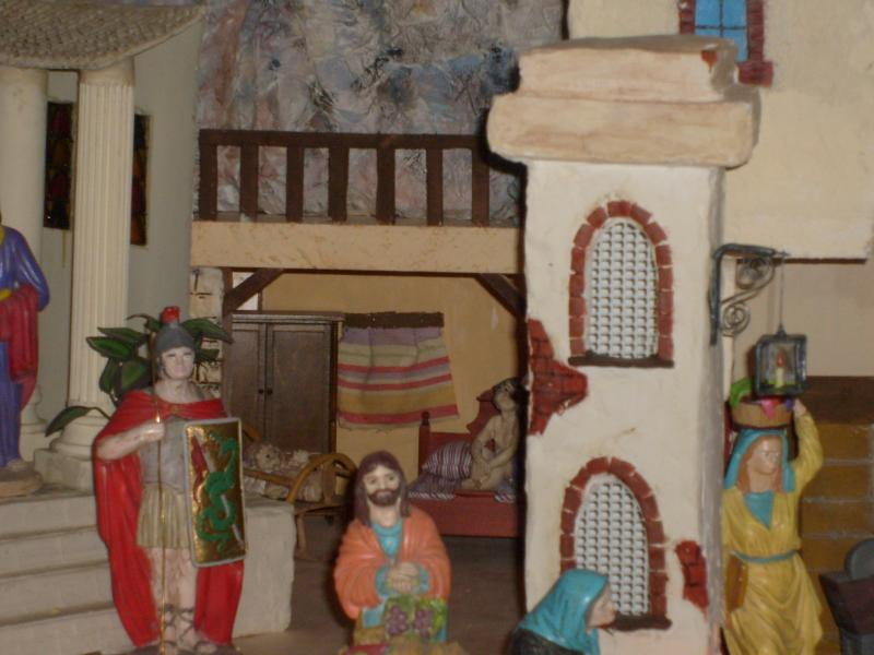 cama y cuna. Belén de Mª Josefa (Villarejo, Periesteban, Cuenca)