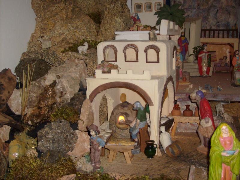 panaderia y montaña. Belén de Mª Josefa (Villarejo, Periesteban, Cuenca)