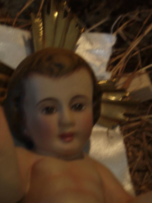 Niño Jesus. Belén de Esteban Madrigal (Tres Rios)