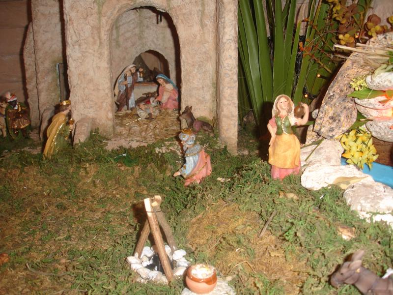 Llegan los tres Reyes Magos. Belén de julia (Andalucia)