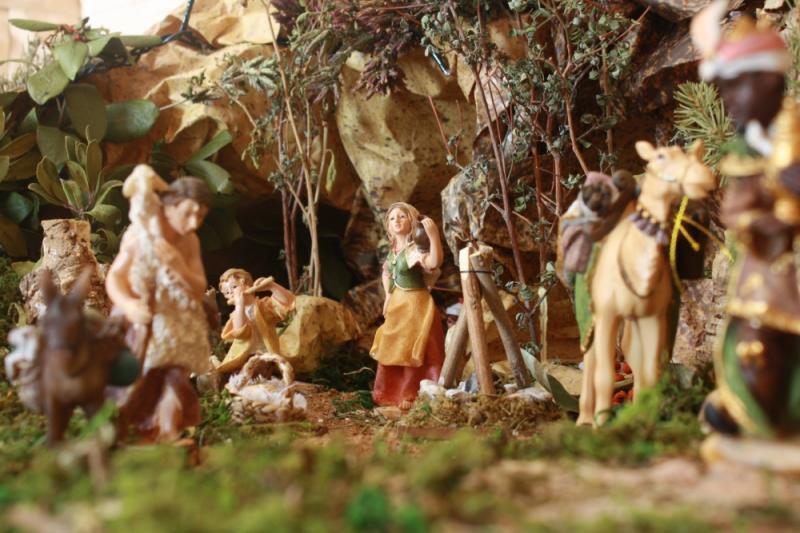 pastores. Belén de julia (Andalucia)