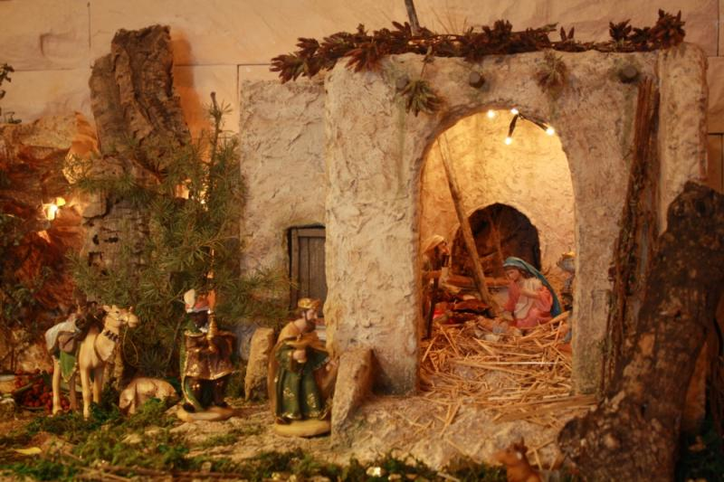portal de Belen. Belén de julia (Andalucia)
