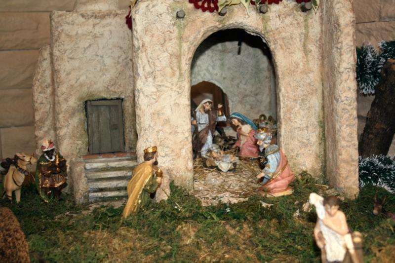 Nacimiento con Reyes Magos. Belén de julia (Andalucia)