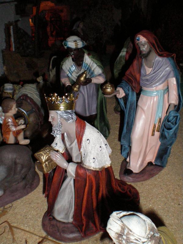 Navidad 2008-8. Belén de Carlos Mª Gallardo de los Ríos (Peñarroya-Pueblonuevo, Córdoba)