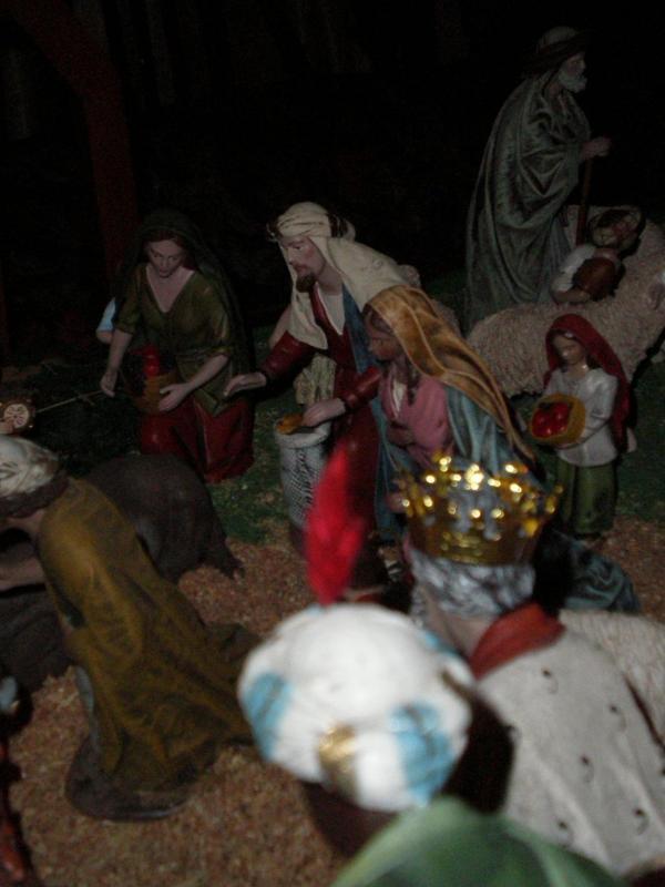 Adoración de los Pastores. Belén de Carlos Mª Gallardo de los Ríos (Peñarroya-Pueblonuevo, Córdoba)
