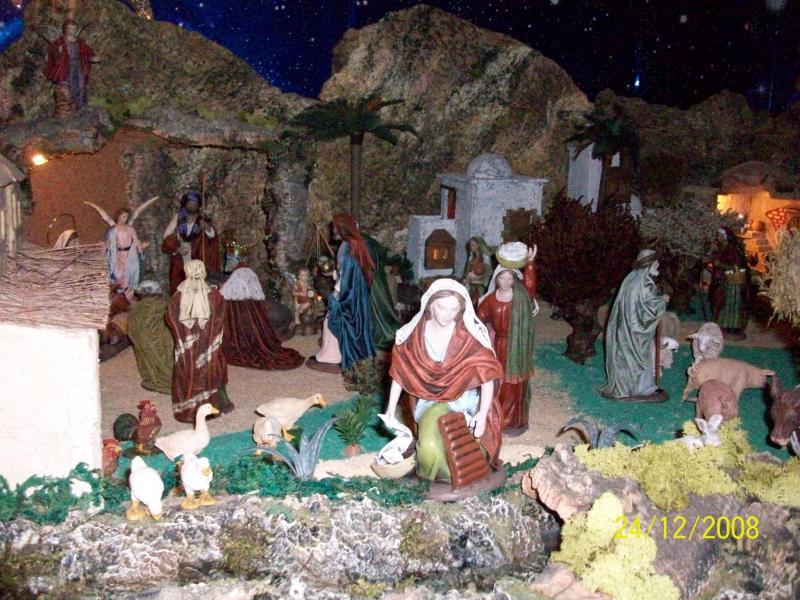 Navidad 2008-5. Belén de Carlos Mª Gallardo de los Ríos (Peñarroya-Pueblonuevo, Córdoba)