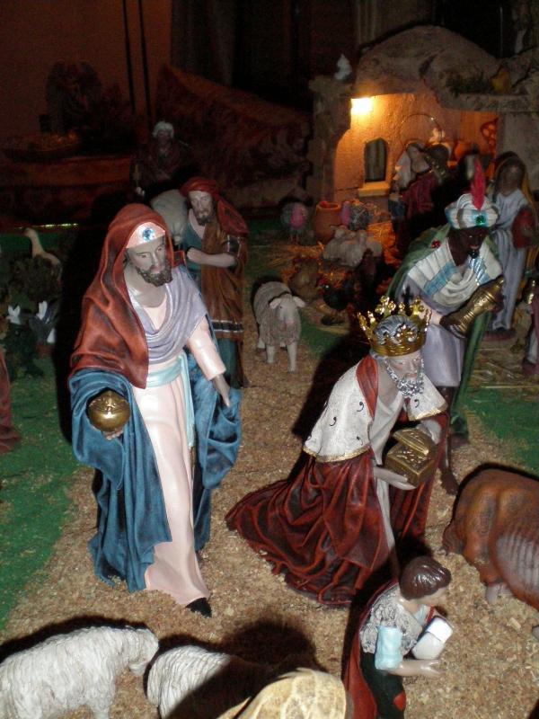 Adoración de los Reyes Magos. Belén de Carlos Mª Gallardo de los Ríos (Peñarroya-Pueblonuevo, Córdoba)