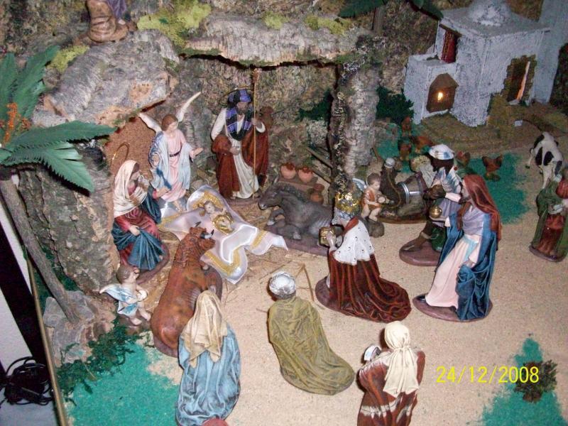 Navidad 2008-2. Belén de Carlos Mª Gallardo de los Ríos (Peñarroya-Pueblonuevo, Córdoba)