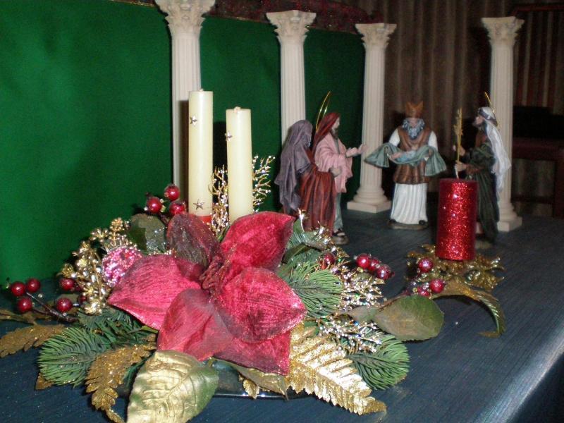 Presentación del Niño al Templo. Belén de Carlos Mª Gallardo de los Ríos (Peñarroya-Pueblonuevo, Córdoba)